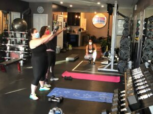 COVID Safe personal training in Syosset on Jackson Avenue
